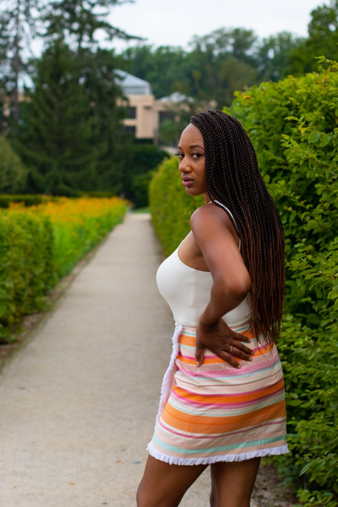 Fashion Blogger Summer Photo Shoot at Longwood Gardens 4