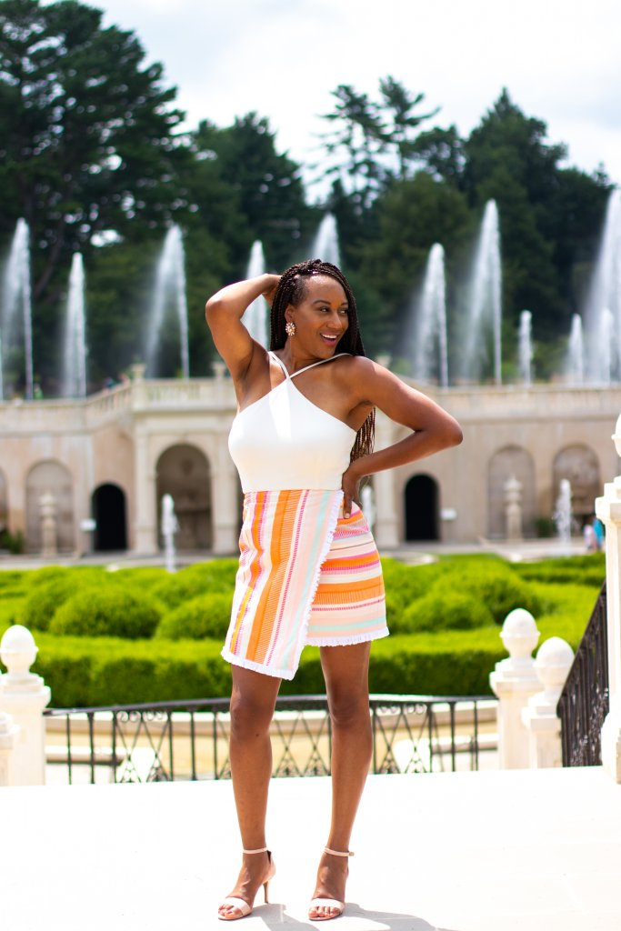 Fashion Blogger Summer Photo Shoot at Longwood Gardens 6