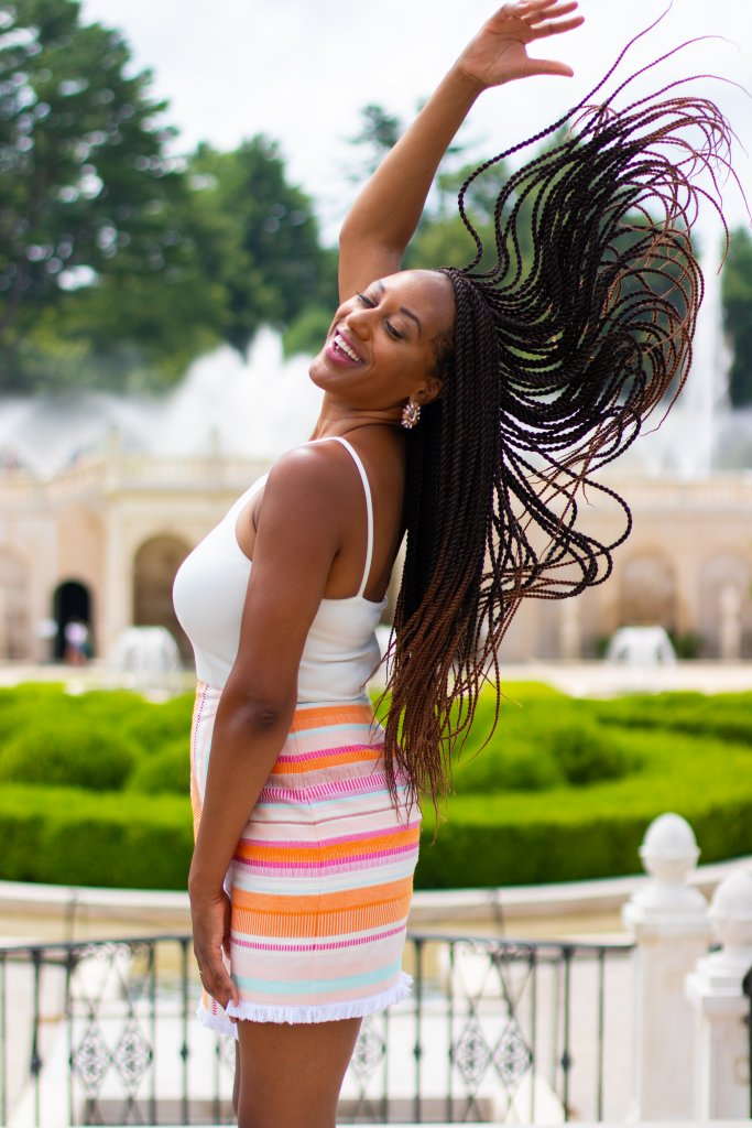 Fashion Blogger Summer Photo Shoot at Longwood Gardens 1