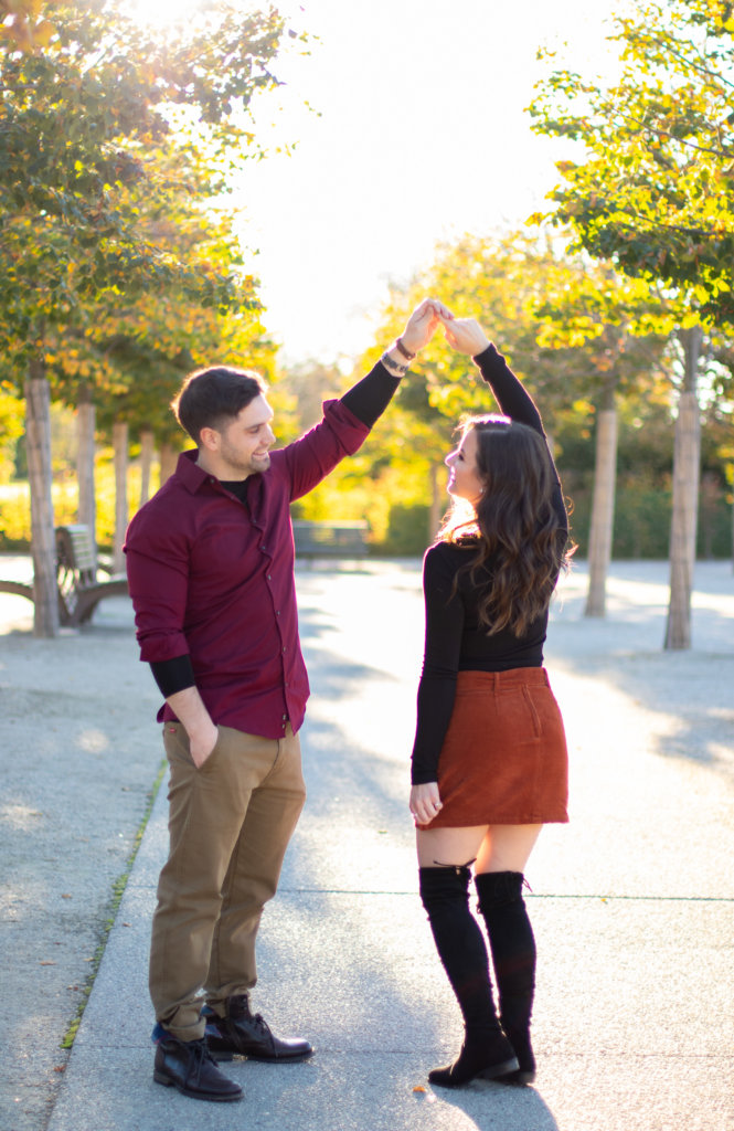 Fall Couples Photo Session at Longwood Gardens 5