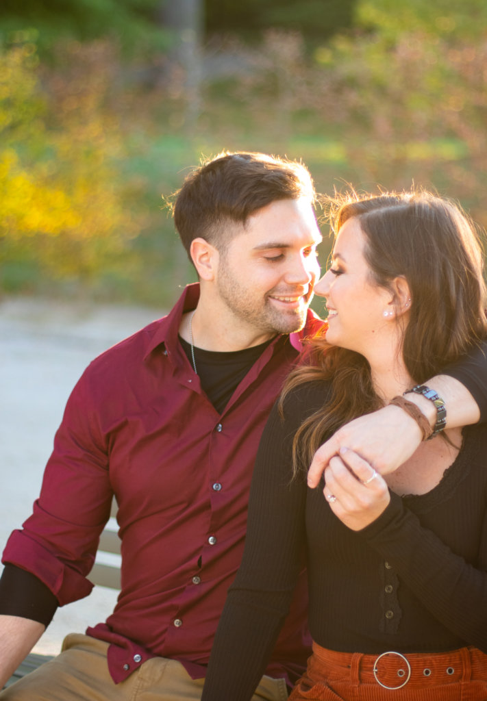 Fall Couples Photo Session at Longwood Gardens 2