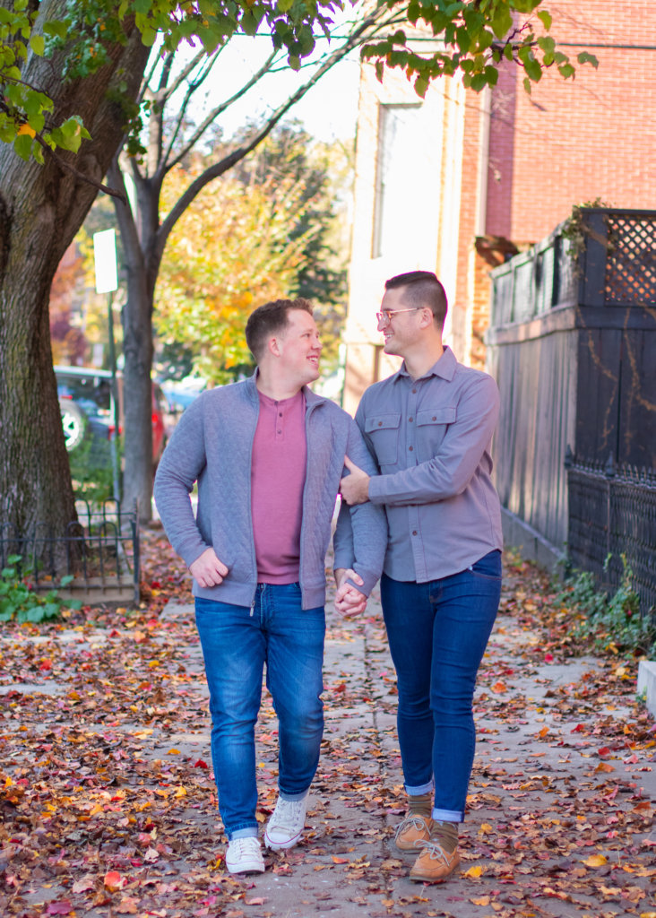 Fall Couples Photo Session in Baltimore, MD 5