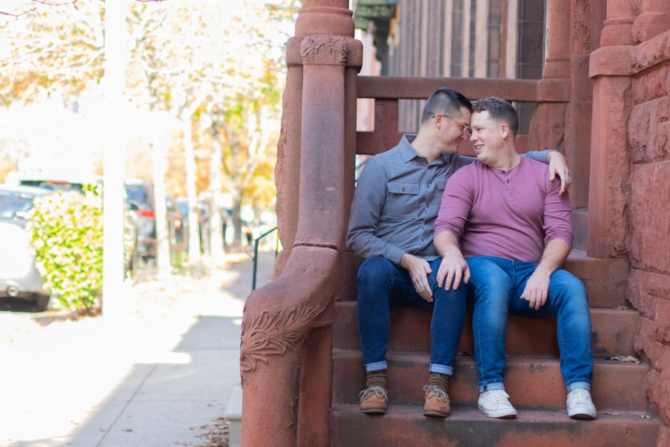 Fall Couples Photo Session in Baltimore, MD 9