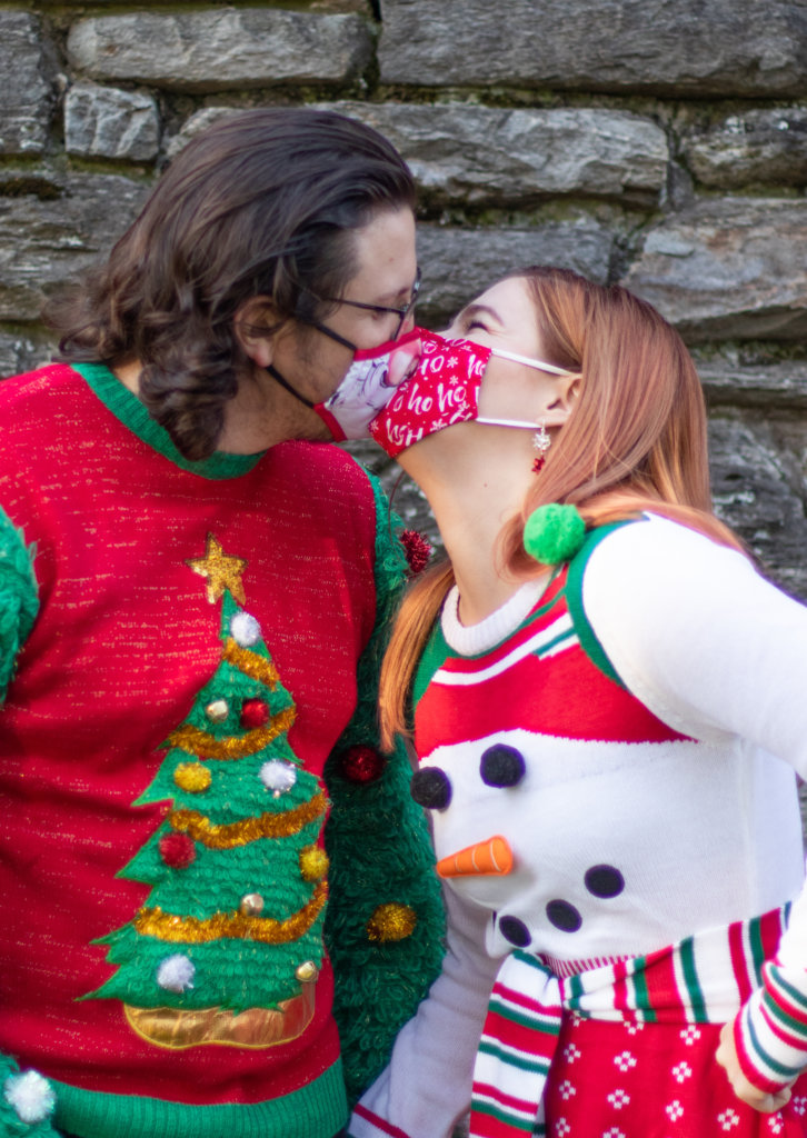 Couples Holiday Session at Greystone Hall 3