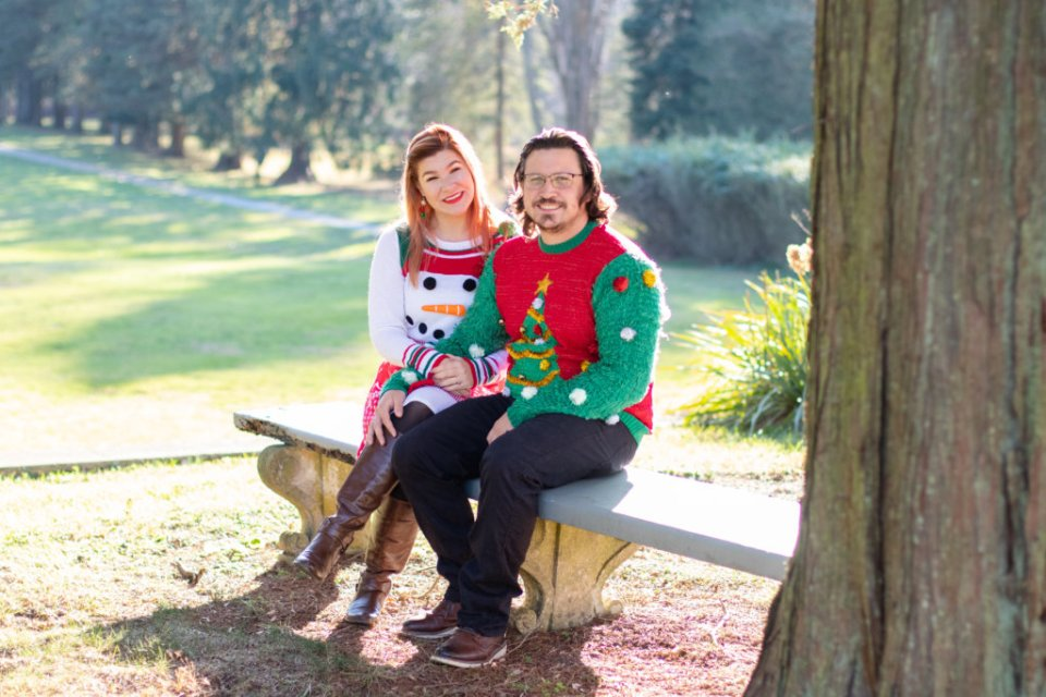 Couples Holiday Session at Greystone Hall 6