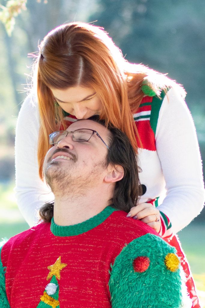 Couples Holiday Session at Greystone Hall 4