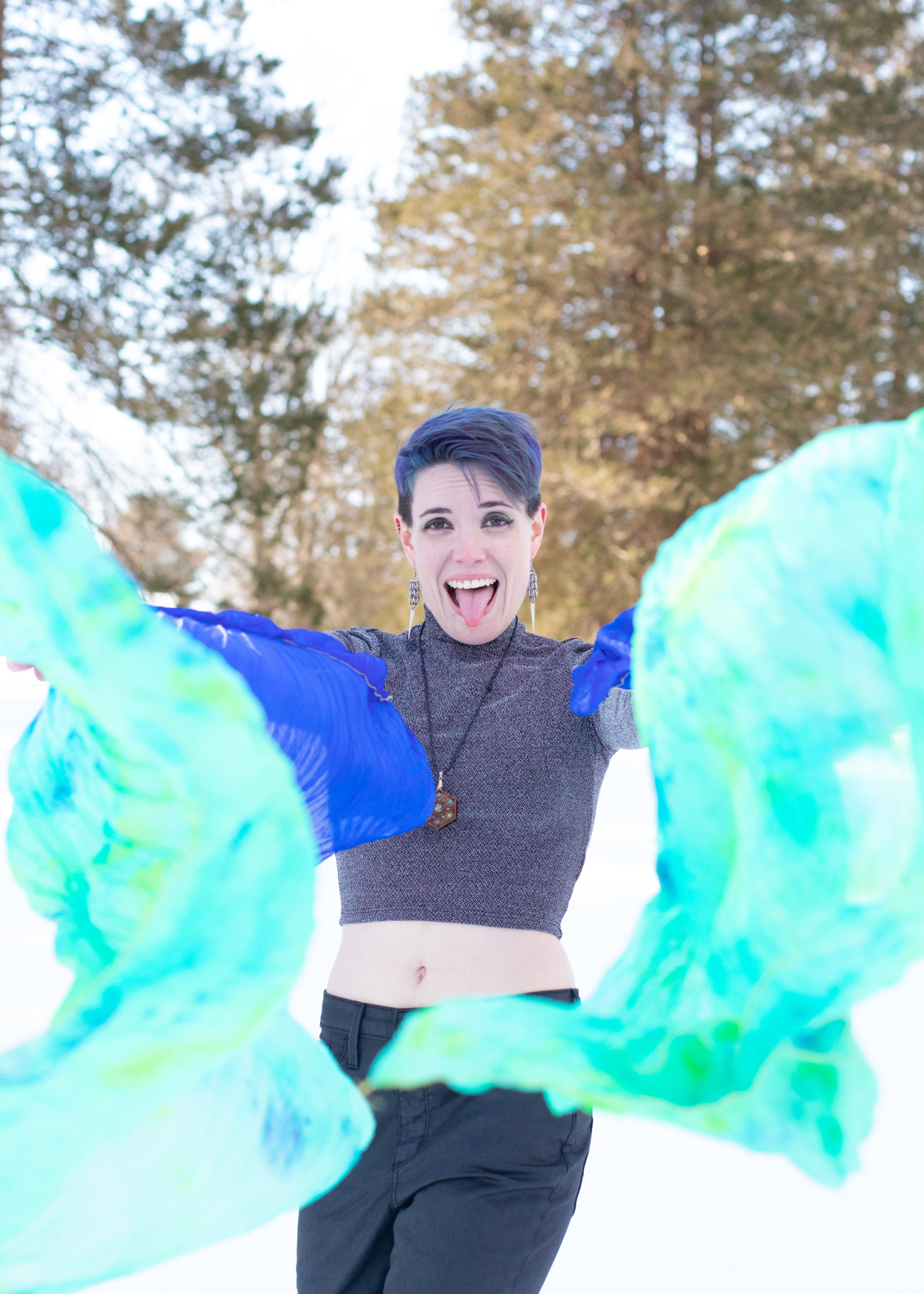 Winter Photo Shoot at Trexler Park in Allentown, PA