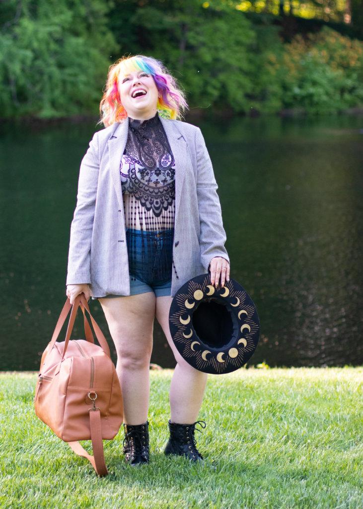 Hairspray and High Heels Fashion Blogger Summer Shoot 15
