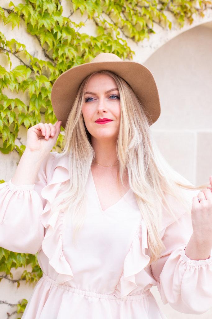 Headshot Session at Longwood Gardens with Beauty Advisor, Renee Wadsworth 5