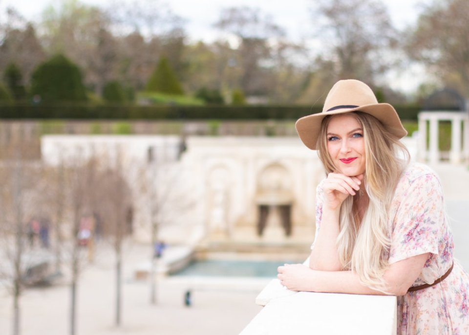 Headshot Session at Longwood Gardens with Beauty Advisor, Renee Wadsworth 18