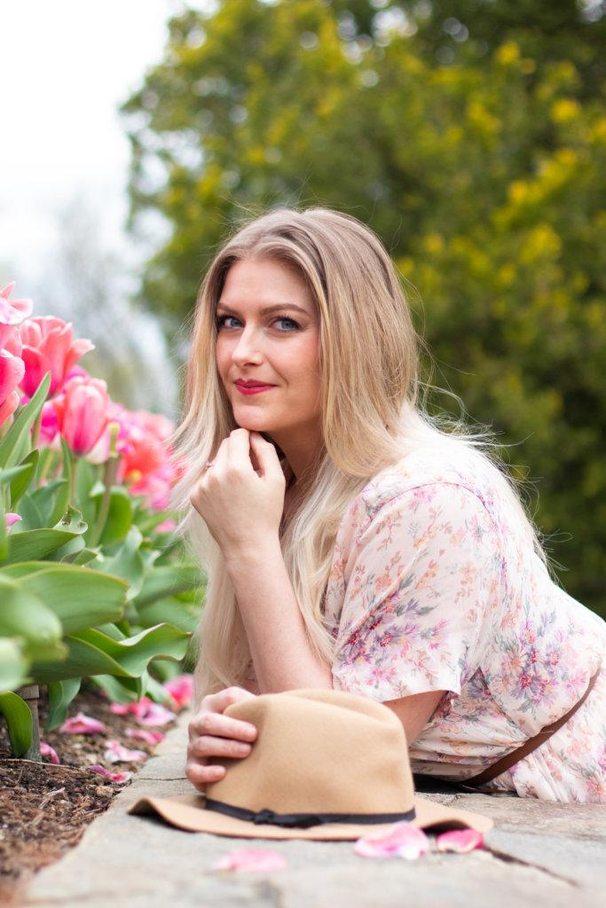 Headshot Session at Longwood Gardens with Beauty Advisor, Renee Wadsworth 20