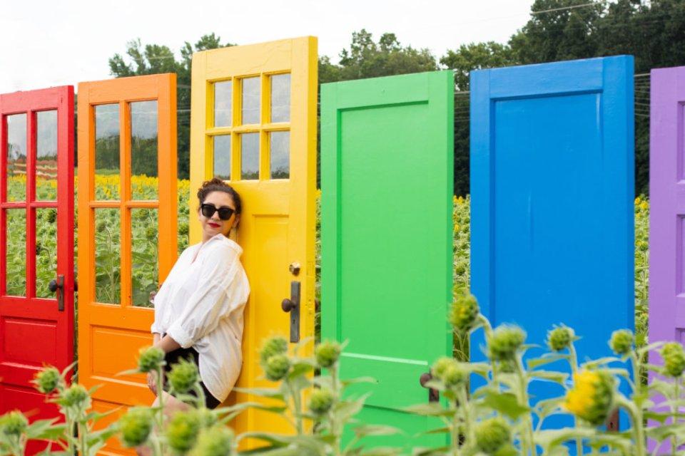 New Jersey Fashion Blogger Photo Shoot Happy Farm New Jersey 39