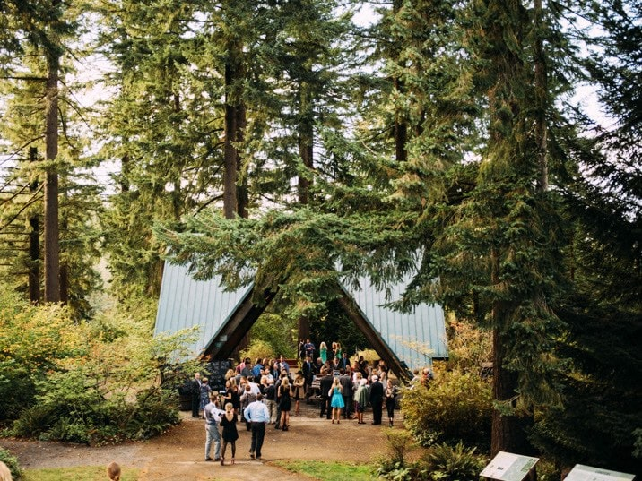 Hoyt Arboretum Coopers Hall Wedding