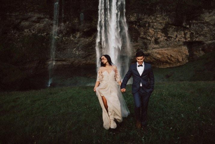 iceland elopement photo