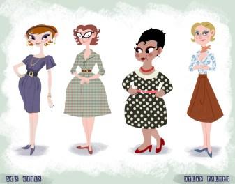 50's Girls