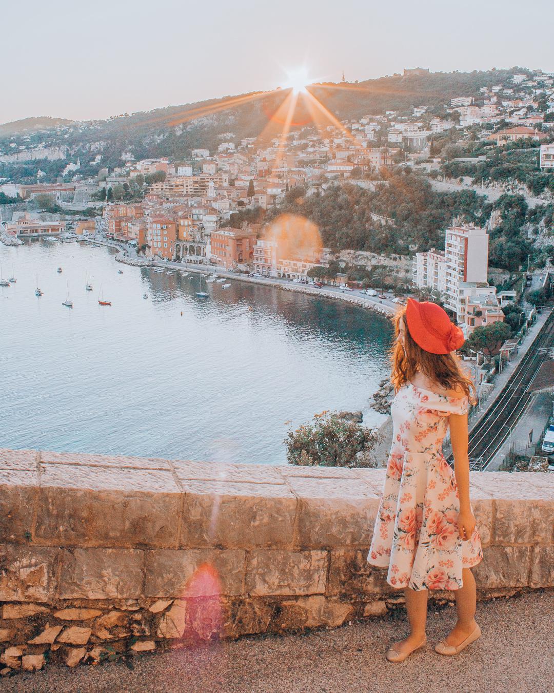 Girl in Villefranche-sur-Mer