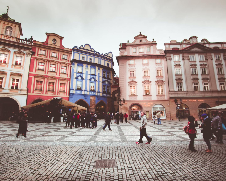 People in Prague