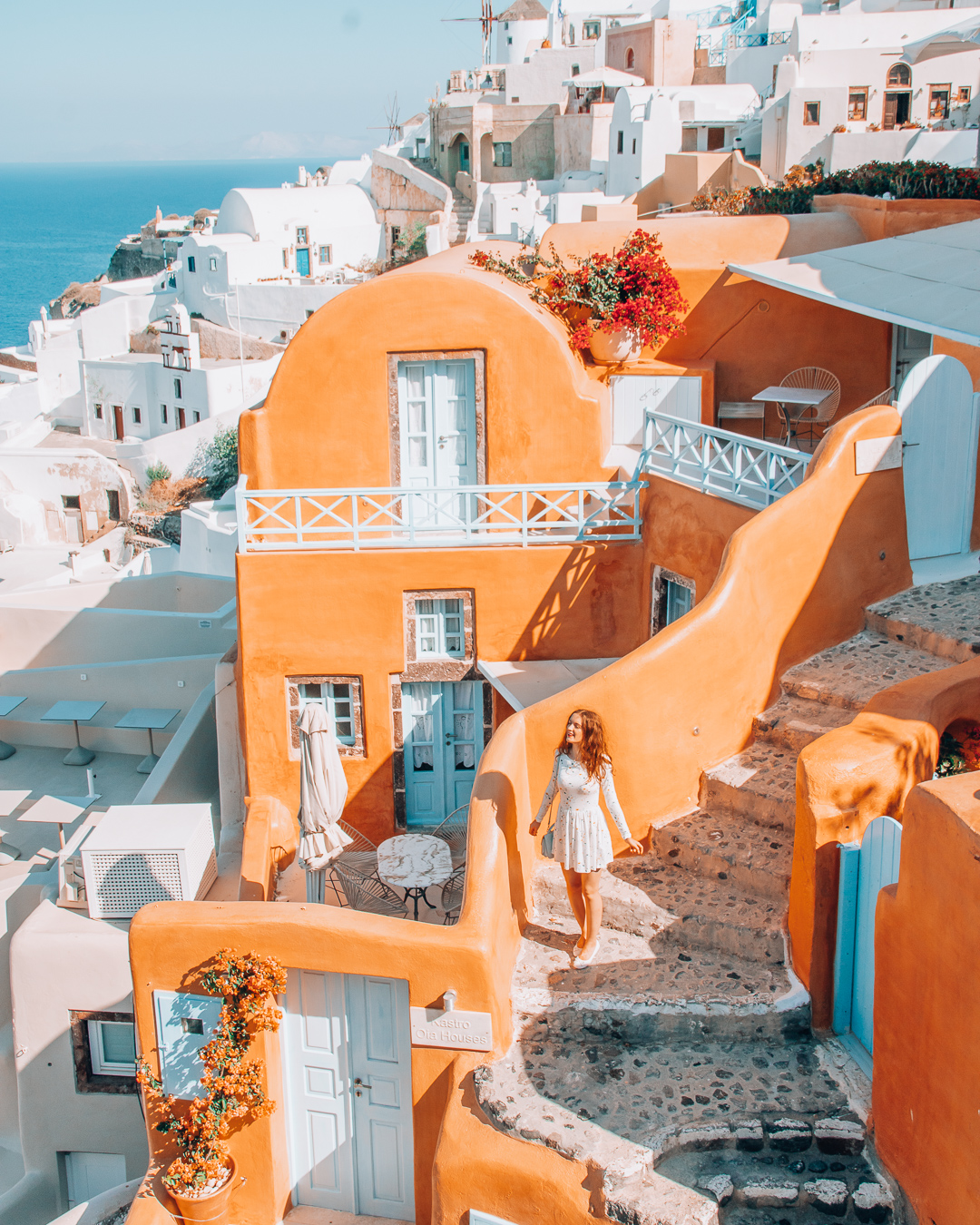 Kastro Oia Houses from above