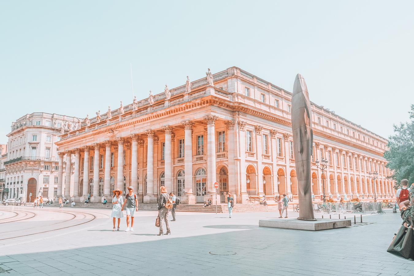Building in Bordeaux