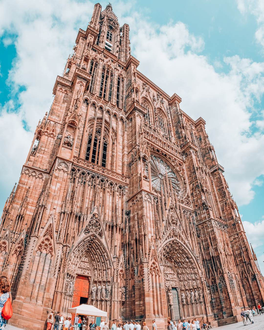 Large Cathedral in Strasbourg
