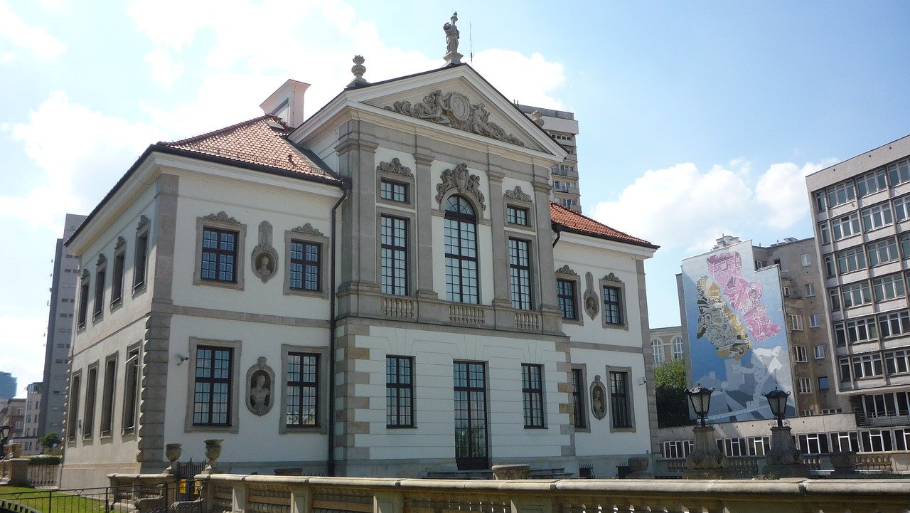 Fryderyk Chopin Museum from the outside