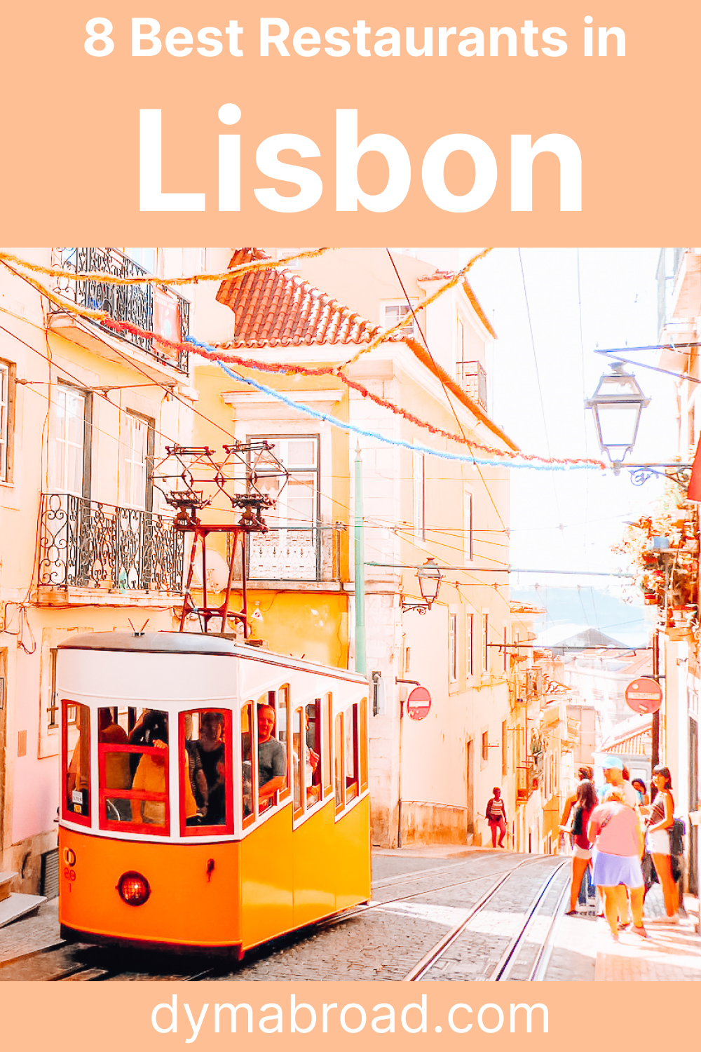 Best restaurants in Lisbon Pinterest image