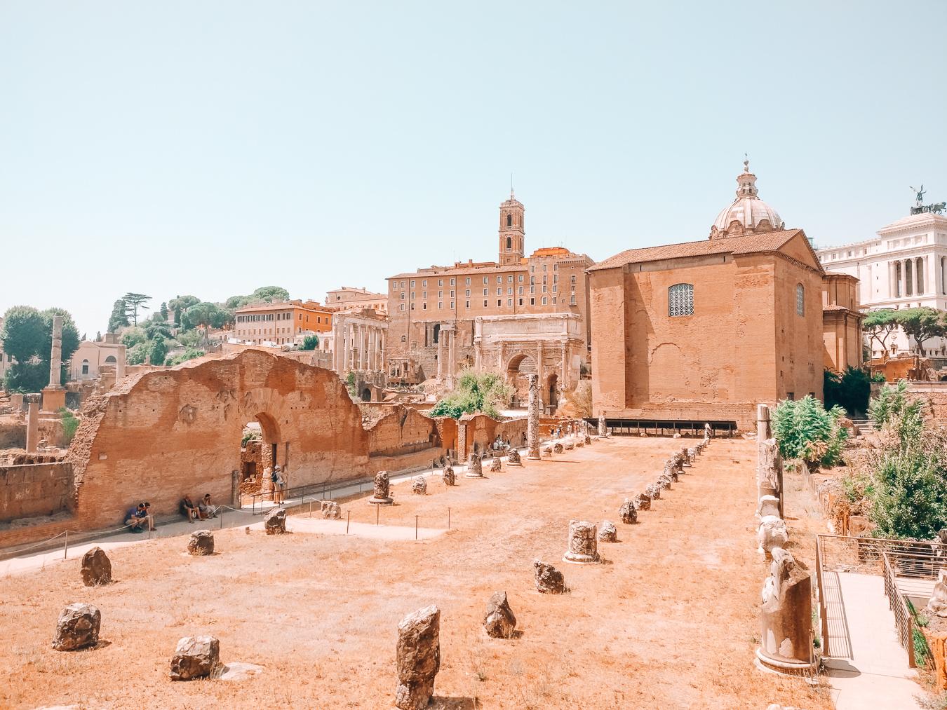 Ruins at Roman Forum
