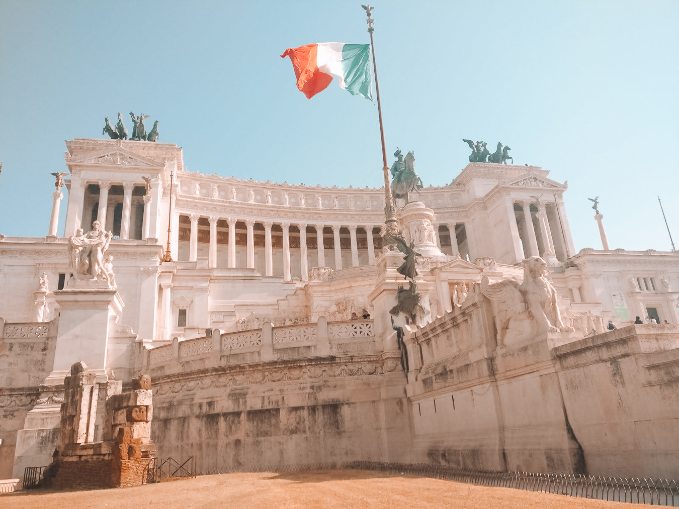 National Monument of Vittorio Emanuele II in Rome