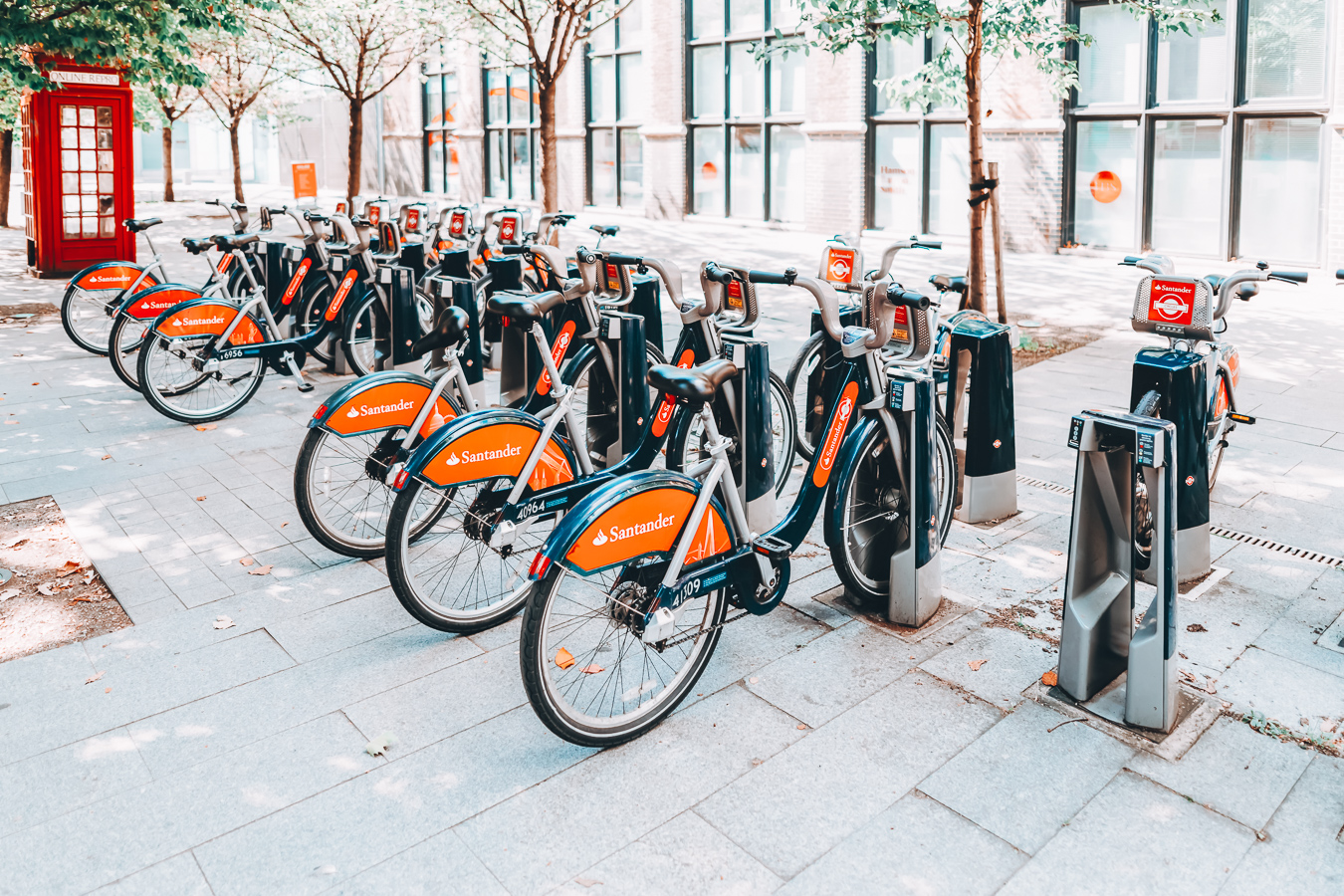 Santander Cycles in London