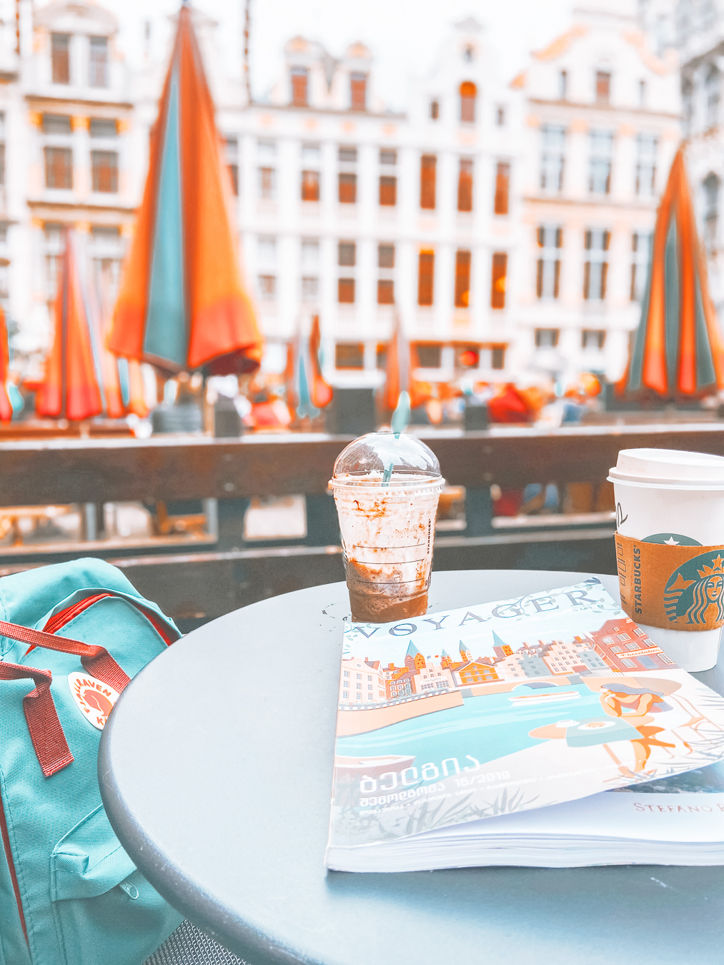 Cafe at Grand Place