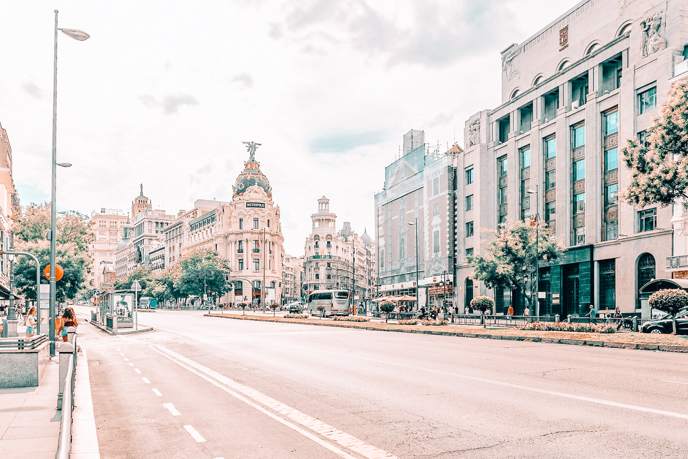Street in Madrid
