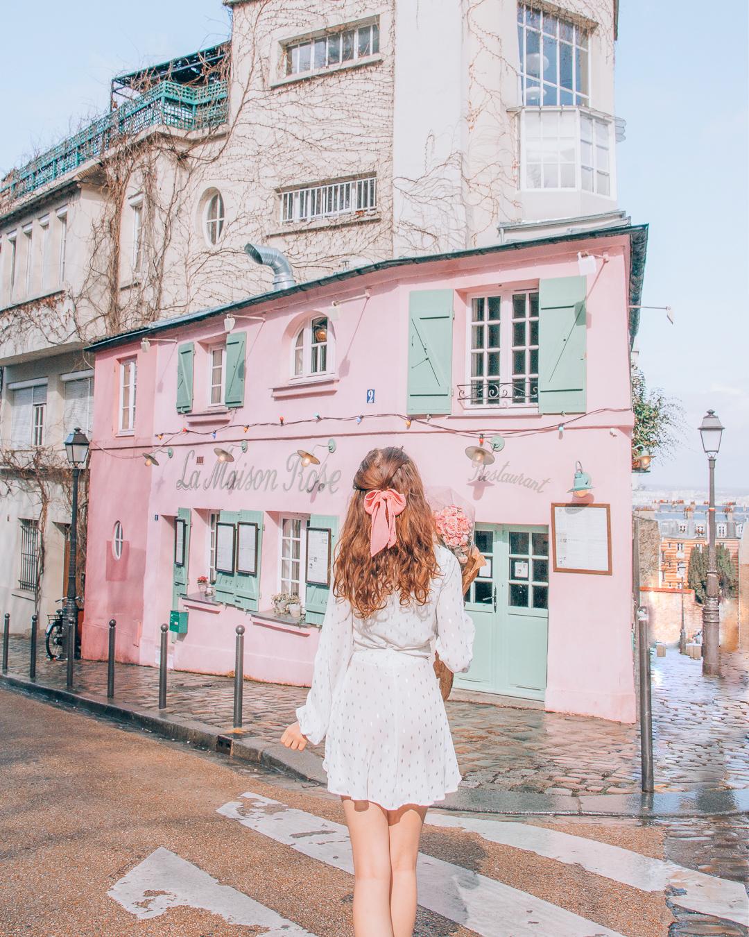 Building in Montmartre