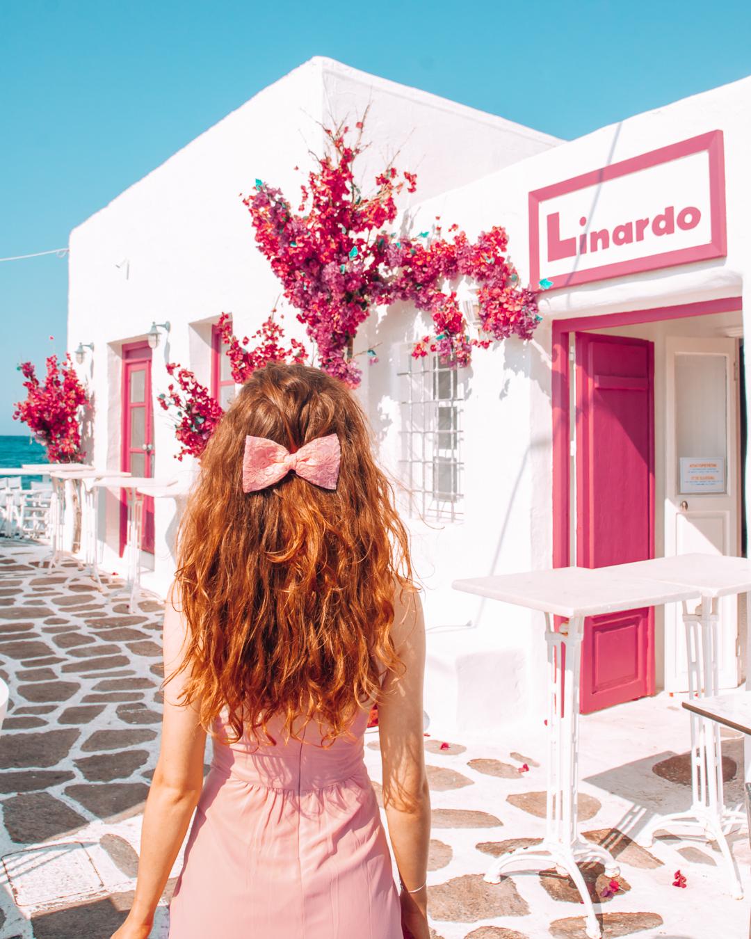 Linardo with a sea view