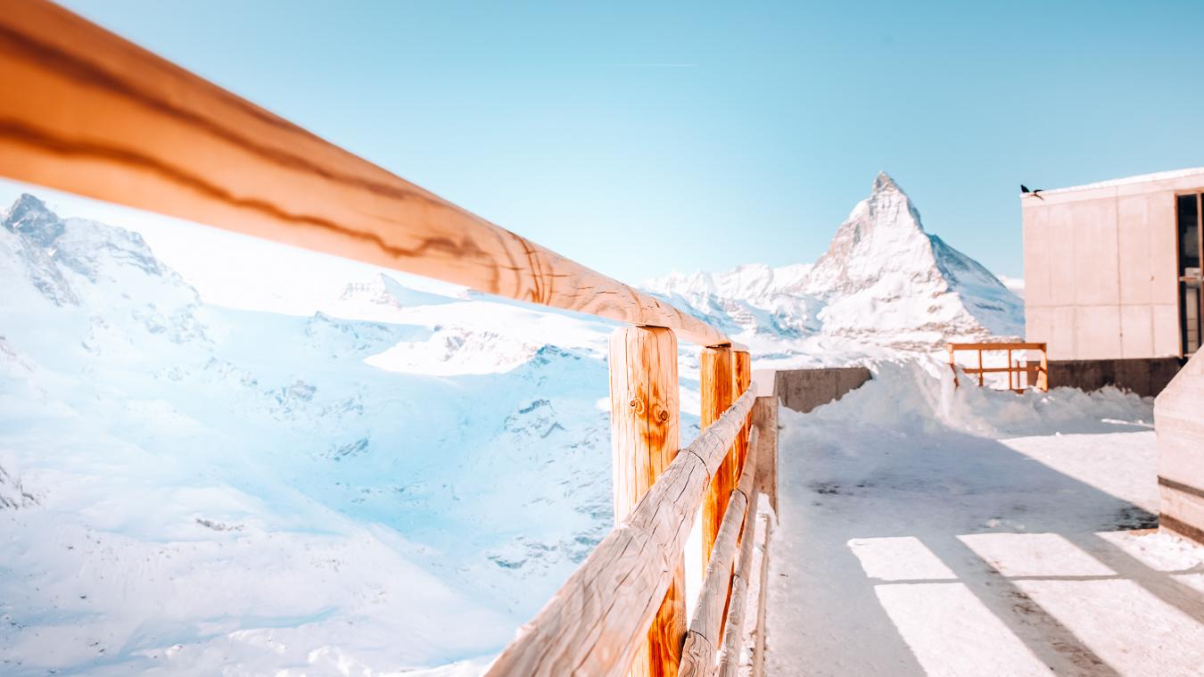 A path in Zermatt