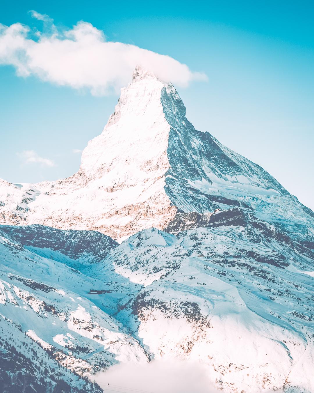 Mountain in Zermatt