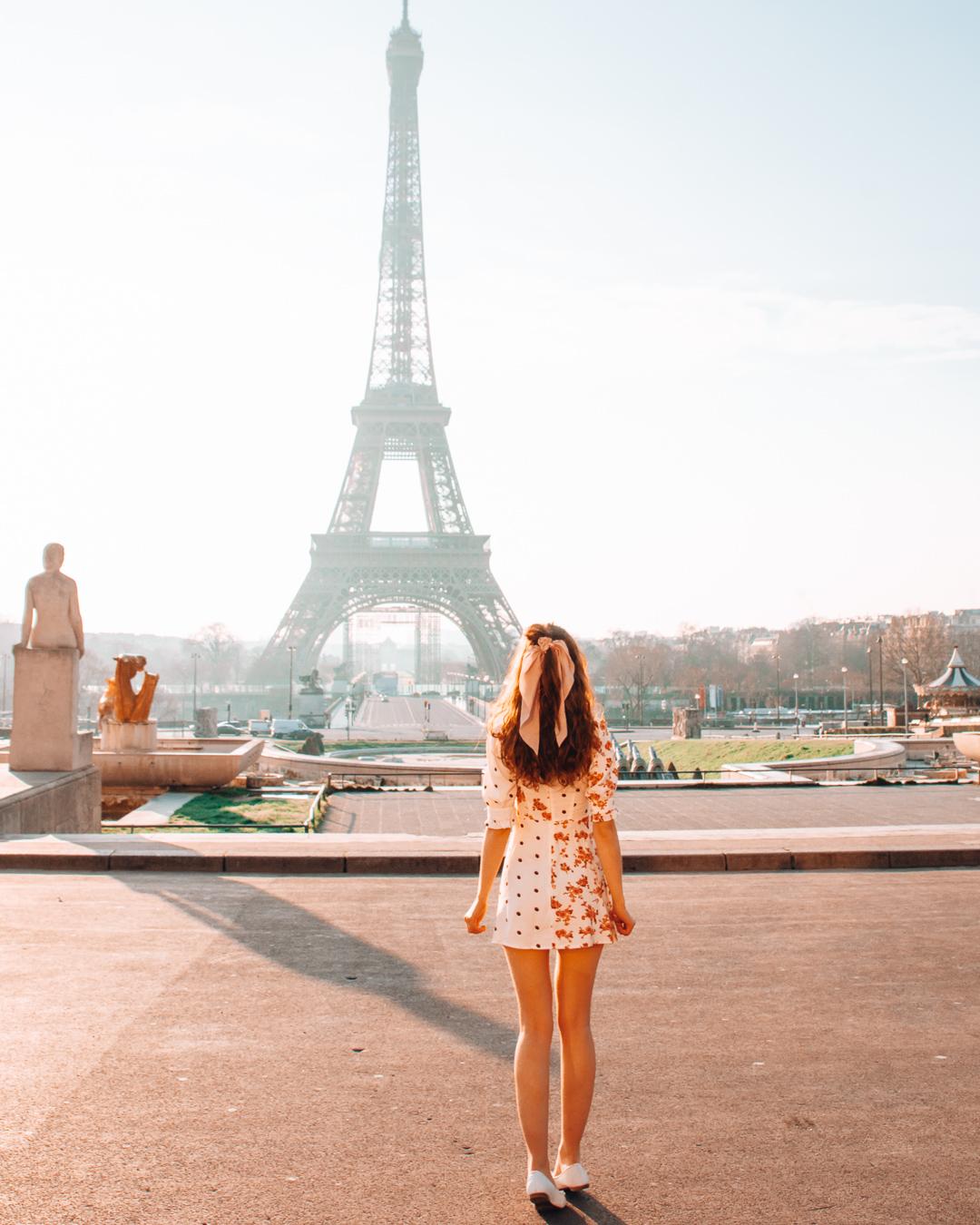 The Eiffel Tower from Trocadéro