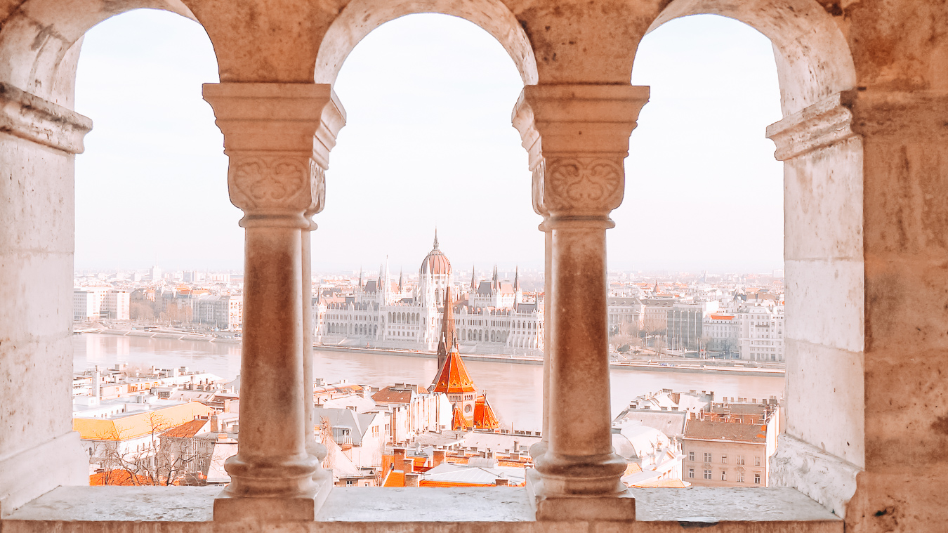 Beautiful view from the Fisherman's Bastion