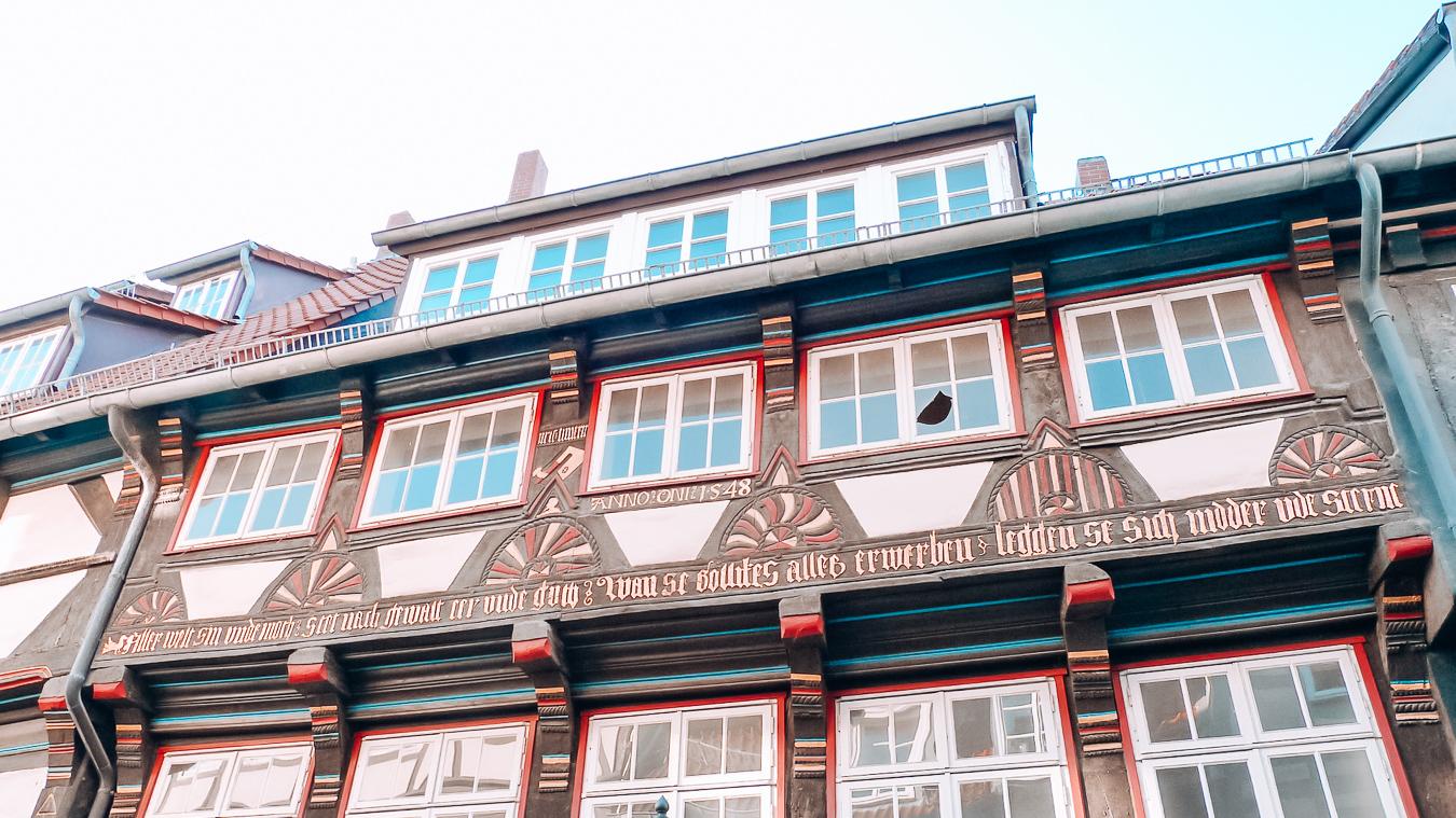 Building in Hamelin, Germany