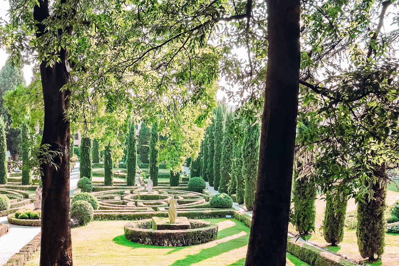 The Giusti Gardens in Verona
