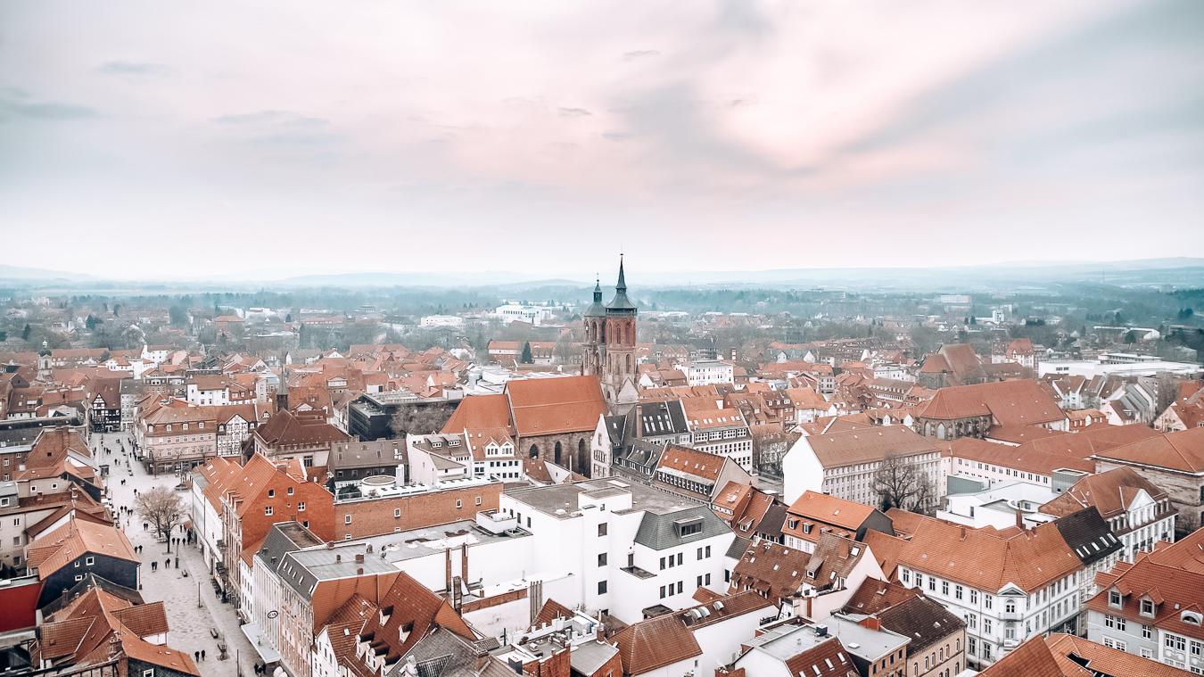 Göttingen from above