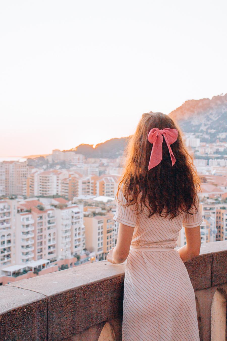 Sunset in Monaco