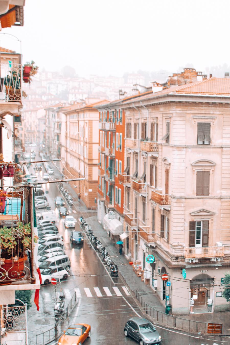 A view of La Spezia