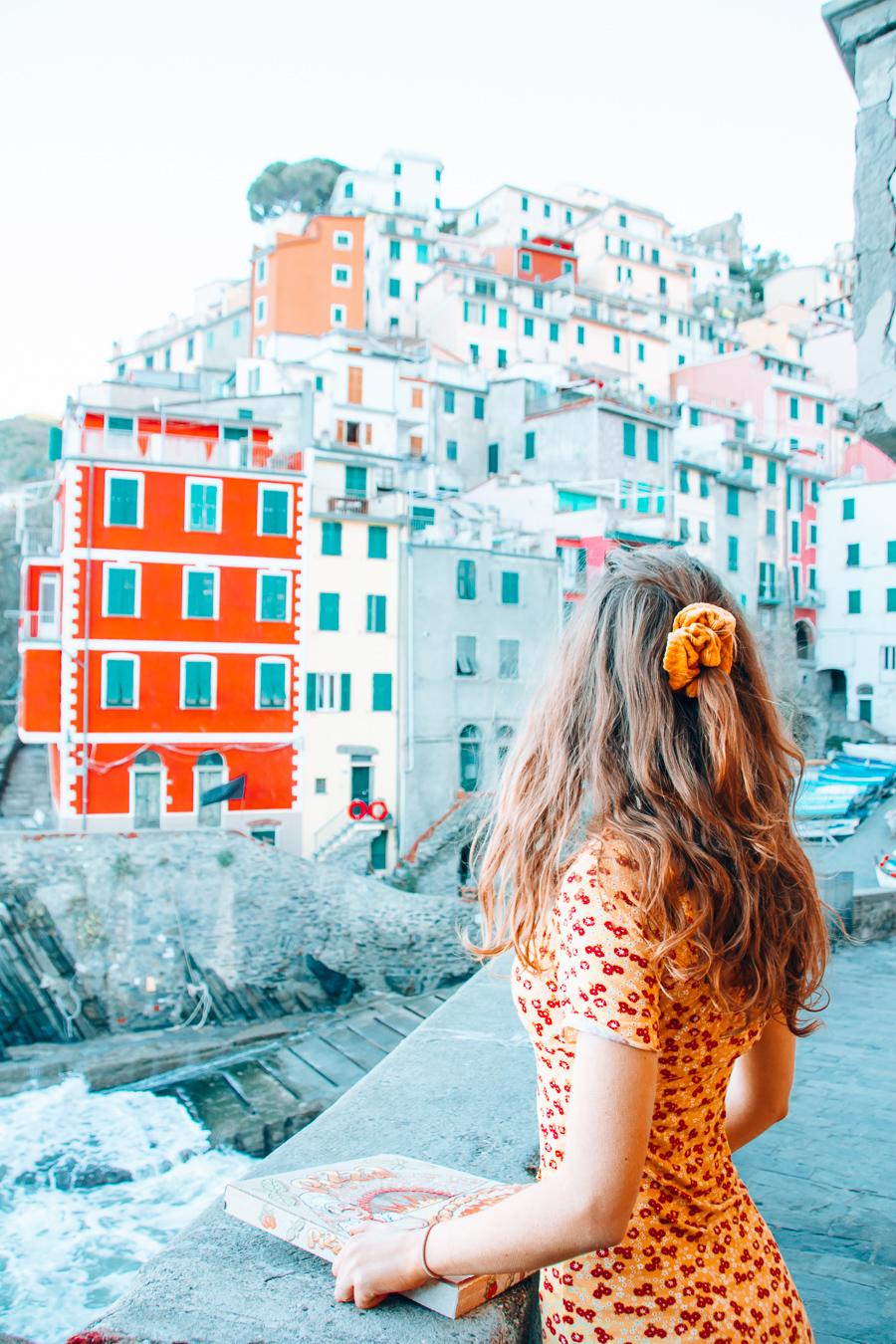 Girl in Riomaggiore, Cinque Terre
