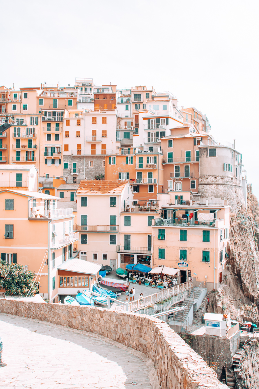 A view of Manarola in Cinque Terre