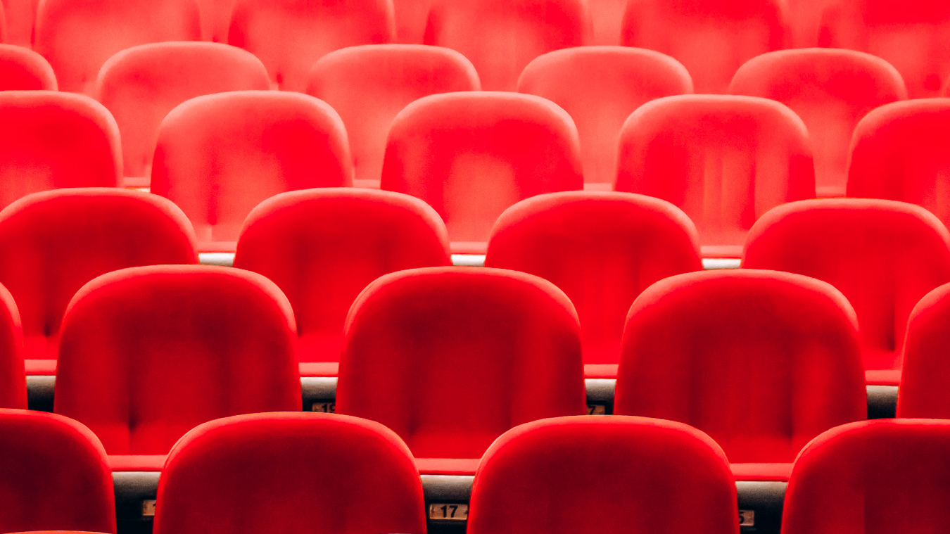 Chairs at a theater