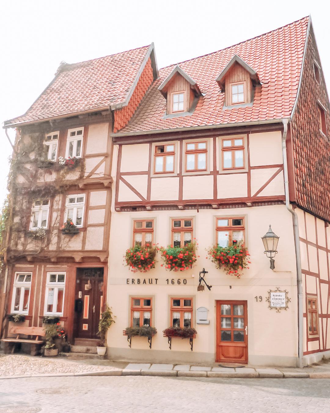 Historic building in Quedlinburg