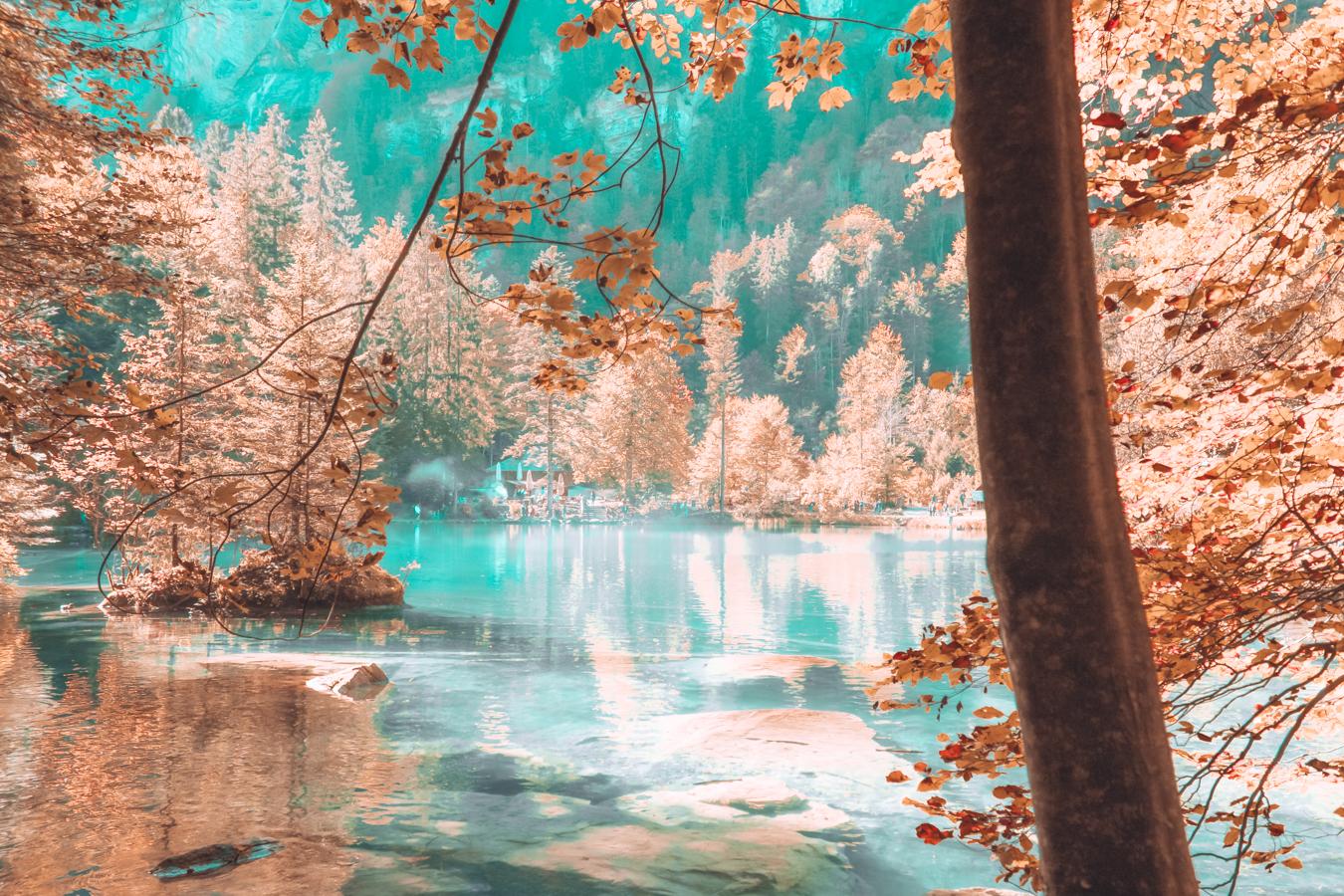 Blausee in Switzerland