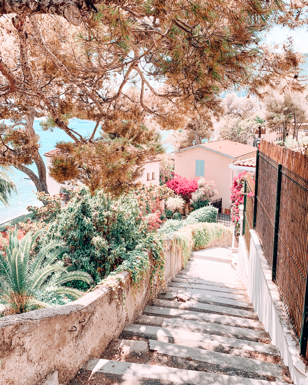 Path in Èze, France