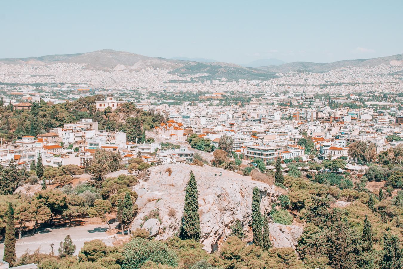 The Aeropagus in Athens