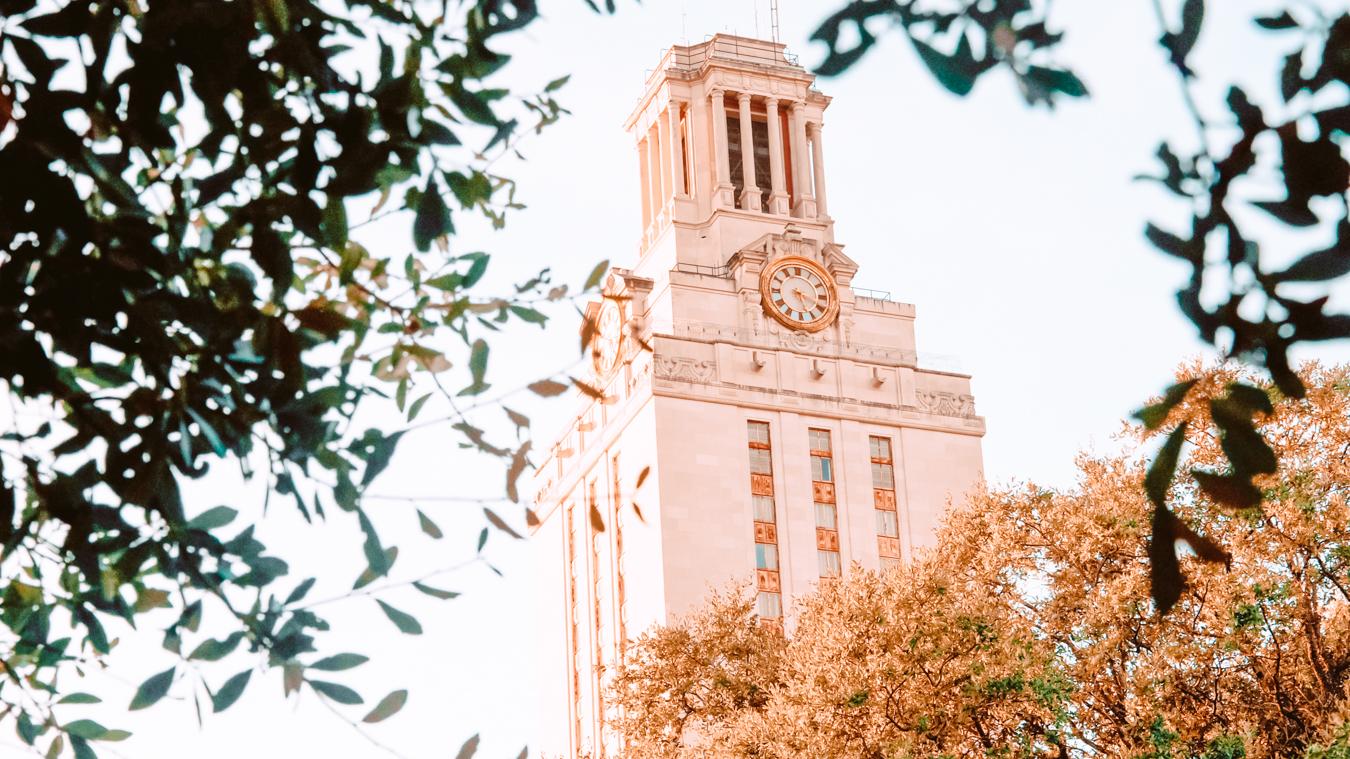UT Tower in Austin